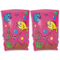 Pool Central Ocean Scene Pool Arm Floats in Pink (Set of 2)