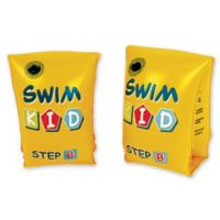 """Pool Central """"Swim Kid"""" Pool Arm Floats in Yellow (Set of 2)"""