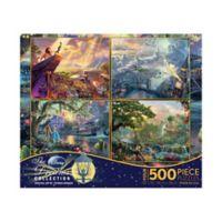 Thomas Kinkade™ Disney Dreams® 4-in-1 Multi-Pack Jigsaw Puzzle Series 1