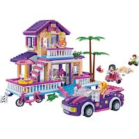 BanBao Trendy Beach House Building Set