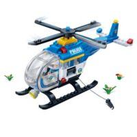 BanBao Police Chopper Building Set