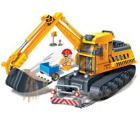 BanBao Bucket Digger Building Set