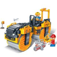 BanBao Steam Roller Building Set