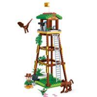 BanBao Watch Tower Building Set