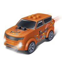 BanBao Mini Pullback Nenoot Racer Building Set in Orange