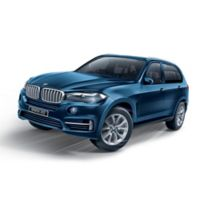 BanBao BMW X5 Mini Pullback Car Building Set in Blue