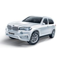 BanBao BMW X5 Mini Pullback Car Building Set in White