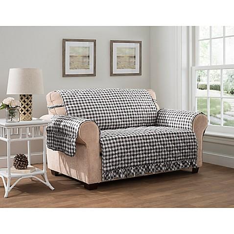 Gingham Xl Sofa Protector Bed Bath Amp Beyond