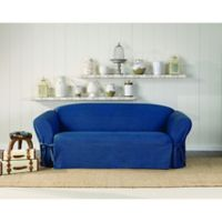SUREFIT Authentic Denim Sofa Slipcover in Indigo