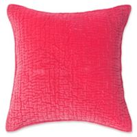 Amity Home Ethan Square Throw Pillow in Hot Pink