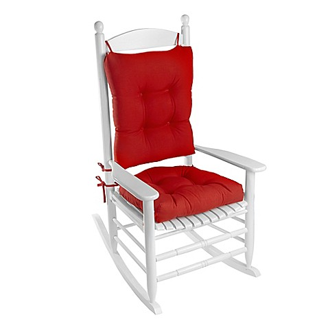 Klear Vu Easy Care 2 Piece Rocking Chair Pad Set Bed