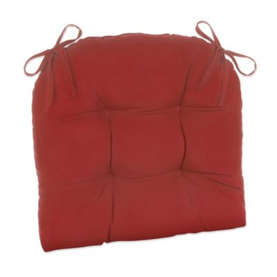 Klear Vu Easy Care Outdoor XL Chair Cushion In Red