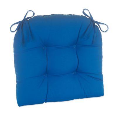 Klear Vu Easy Care Outdoor XL Chair Cushion In Marine Blue