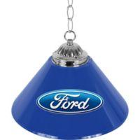 Ford® 1-Light Bar Lamp in Blue/Chrome