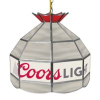 Coors 1-Light Stained Glass Lamp