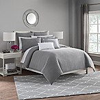 Haven Full/Queen Duvet Cover in Silver