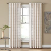 Cambria® Santorini 63-Inch Rod Pocket/Back Tab Window Curtain Panel in Natural