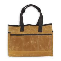 CB Station Waxed Canvas Utility Tote in Yellow