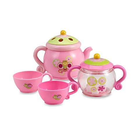 summer infant tub time tea party set bed bath beyond. Black Bedroom Furniture Sets. Home Design Ideas