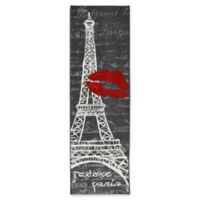Mohawk Home Paris Love Eiffel Tower Runner in Grey
