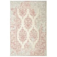 Mohawk Home Berkshire 8-Foot x 10-Foot Area Rug in Coral