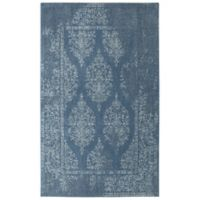 Mohawk Home Berkshire 8-Foot x 10-Foot Area Rug in Blue