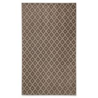 Mohawk Home® Diamond Jack 5-Foot x 8-Foot Area Rug in Walnut/Taupe