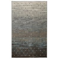 Karastan Serenade Allegro 5-Foot 3-Inch x 7-Foot 10-Inch Area Rug in Grey