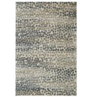 Karastan Studio Serenade Gamba 5-Foot 3-Inch x 7-Foot 10-Inch Area Rug in Grey