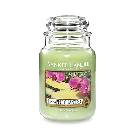 Yankee Candle® Housewarmer® Pineapple Cilantro Large Classic Jar Candle