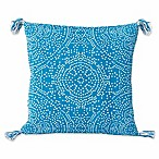 Thro by Mario Lorenz Kerra Dot Reversible 20-Inch Square Throw Pillow in Caribbean Sea