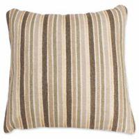 Thro by Mario Lorenz Susana Stripe Throw Pillow in Antique White/Gold