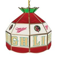 Miller Girl in the Moon Stained Glass Tiffany Style Lamp