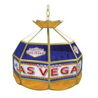 Las Vegas Stained Glass Billiard Lamp