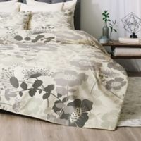 Deny Designs Khristian A Howell Provencal 1 Queen Comforter Set in Grey