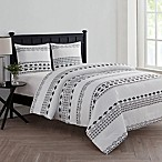 VCNY Home Azteca 3-Piece King Comforter Set in White/Black