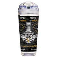 NHL Pittsburgh Penguins 2017 Stanley Cup Champions 24 oz. Acrylic Travel Tumbler