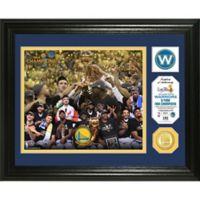 NBA Golden State Warriors 2017 NBA Finals Champion Single Coin Photo Mint