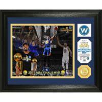 NBA Golden State Warriors 2017 NBA Finals Champion MVP Single Coin Photo Mint