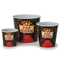 Wabash Valley Farms™ 3-Pack Red Carpet Movie Night Popcorn-Filled Tubs