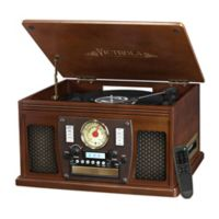Victrola™ 3-speed 8-in-1 Bluetooth Record Player in Espresso
