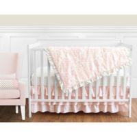 Sweet Jojo Designs Amelia 11-Piece Crib Bedding Set in Pink/Gold