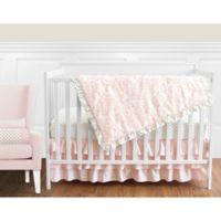 Sweet Jojo Designs Amelia 11-Piece Crib Bedding Set in Pink/Gold