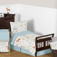 Sweet Jojo Designs Woodland Toile 5-Piece Toddler Bedding Set