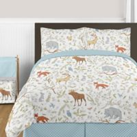 Sweet Jojo Designs Woodland Toile 3-Piece Full/Queen Comforter Set