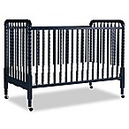 DaVinci Jenny Lind 3-in-1 Convertible Crib with Toddler Bed Kit in Navy