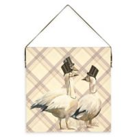 Arthouse Top Hats and Tails Canvas Wall Art