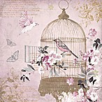 Arthouse Enchanted Birdcage Foil Canvas