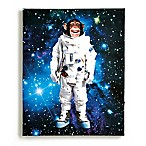 Imagine Fun Space Monkey Light Up Canvas Wall Art