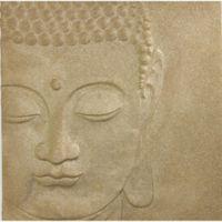 Arthouse 3D Buddha Glitter Canvas